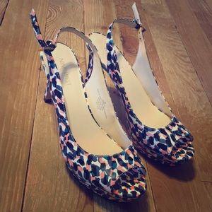 Cute Nine West heels size 8M